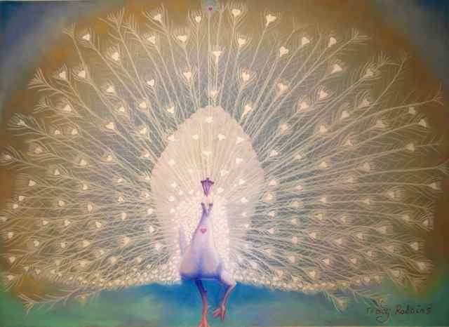 White Peacock- Soul purpose by Tracy Robbins
